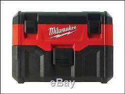 Milwaukee M18 VC2-0 Wet/Dry Vacuum MILM18VC20