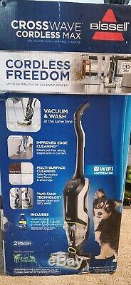 New Bissell Crosswave Cordless Max Multi-surface Wet/dry Pet Vacuum Cleaner 2590