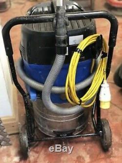 Nilfisk Alto Attix 110v Wet and Dry Vacuum Dust Extractor Vac hose makita 447m