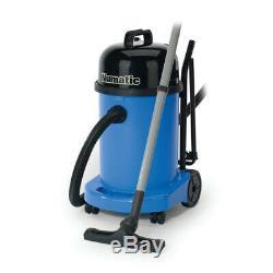 Numatic 27L Wet & Dry Vacuum Cleaner, Blue, 240V