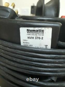 Numatic Blue CVC370-2 Vacuum Cleaner Hoover Wet & Dry 3 in 1 Blue A21A Kit UK