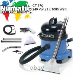 Numatic CT370-2 Carpet & Upholstery Wet Vacuum Suction Cleaner Washer Shampooer