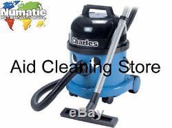 Numatic Charles 1200w CVC370 110V Wet & Dry Site Vacuum Cleaner Hoover 110 Volt