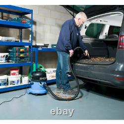 Numatic Charles CVC370-2 Vacuum Cleaner Hoover Wet & Dry 3 in 1 Blue