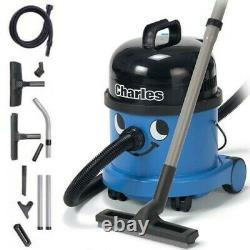 Numatic Charles Henry CVC370-2 Vacuum Cleaner Hoover Wet & Dry 1200 watts