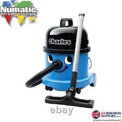 Numatic Charles Henry Compact Wet & Dry 1200W Vacuum Cleaner Blue CVC370