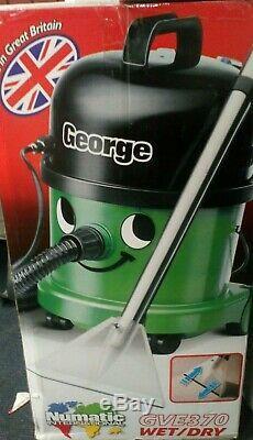 Numatic GVE370 Bagged Wet/Dry Vacuum Cleaner Green