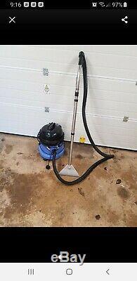 Numatic George GVE370 2 Vacuum Carpet Cleaner Hoover Wet & Dry blue vac