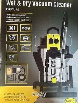 Parkside Wet & Dry Vacuum Cleaner 30L