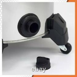 RIDGID 60 Litre (16 Gal.) 6.5 Peak HP Stainless Steel Wet Dry Vacuum with Cart