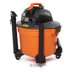 Rigid Shop Vacuum Cleaner Wet Dry Vac 9 Gal 4.25 Peak HP Filter Hose Accessories
