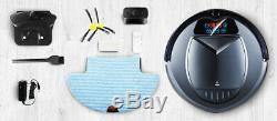 Robot Vacuum Cleaner EXP Rocco Automatic Floor Sweeper Mop Wet Dry UV Sterilizer