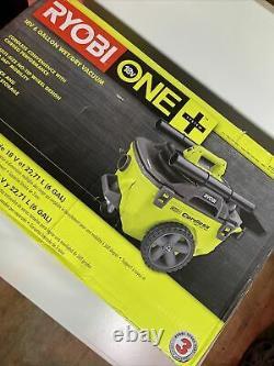 Ryobi Cordless 18v Wet & Dry Vac vacuum cordless 6 gallon P770