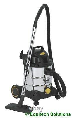 Sealey PC200SD110V 20L 110V Wet & Dry Industrial Vacuum Vac Cleaner New