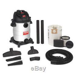 Shop Vacuum, 12 gal, SS, 145 cfm 22XJ47