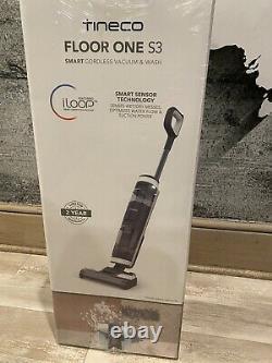 Tineco Floor One S3 Smart Cordless Hard Floor Wet Dry Vacuum Cleaner NEW SEALED