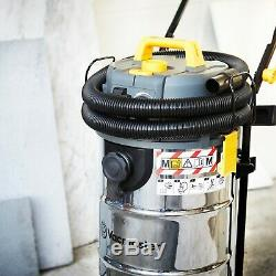 Vacmaster M Class Dust Extractor 240v Industrial Wet & Dry Vacuum Cleaner 38L