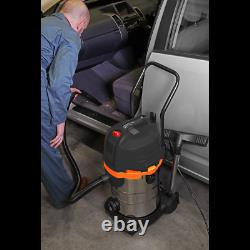 Vacuum Cleaner Cyclone Wet & Dry 30L Double Stage 1200With230V