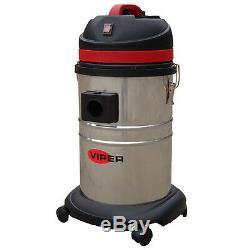 Viper LSU135 35 litre wet/dry vacuum cleaner