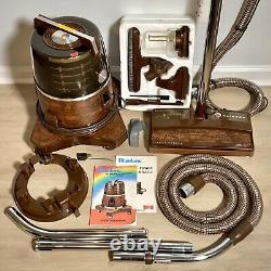 Vtg Rainbow Vacuum Canister D3C Power Nozzle R-1650C Caddy Sprayer Brush Manuals