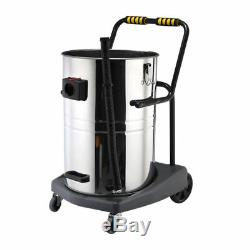 Wet & Dry Vacuum Vac Cleaner Industrial 80l Litre 3600w Stainless Steel Carwash