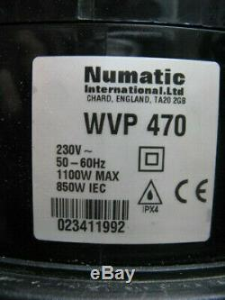 Wet and Dry Numatic Vacuum cleaner Hoover