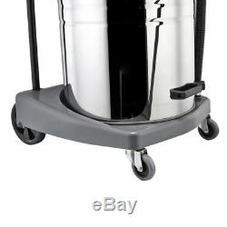 Wet and Dry Vacuum Cleaner Commercial Industrial Stainless Steel 1500W 3600W UK