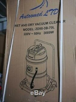 Wido Wet and Dry VAC Vacuum Cleaner Industrial 70 Litre 3000w