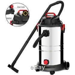 1200w 30l Humide / Sec Aspirateur 4 Modes Poussière Industriel Avec Socket Extracting