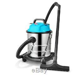 20/30 / 50l Cleaner Humide / Sec Industriel En Acier Inoxydable À Vide Blower Atelier Voiture