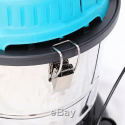 3000w Humide Aspirateur Sec Hoover Container En Acier Inoxydable Atelier Ventilateur