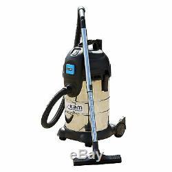 30 Litres 1400 Watt Wet & Dry Aspirateur Avec 2000 Watt Prise De Force De Prise Off