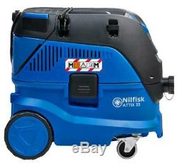 30 Litres 1400w Classe M Wet & Dry Aspirateur 240v Nilfisk