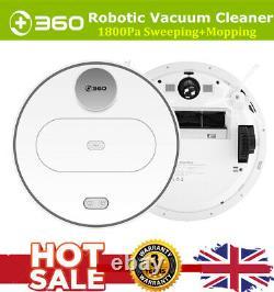 360 Aspirateur Robotique S6 2in1 Nettoyage De Balayage Wet&dry Sweeper Hepa Filter