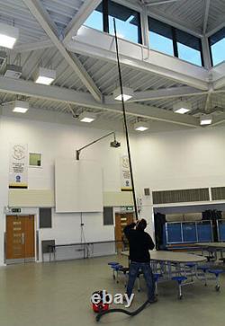 4.5m High Reach Carbon Fibre Pole Set Pour S'adapter Henry Hetty Aspirateur Numatique