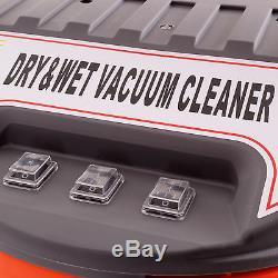 80l Litre Industriel 3000w Acier Inoxydable Sans Sac Pour Appareil De Nettoyage Capacité D'eau