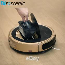 Alexa Aspirateur Robot Pet Hair 3 En 1 Vadrouille De Balayage Sec Et Humide