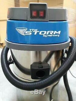 Aspirateur Eau Chrome Mercury Storm Dry 20 Gallons Wvc-20 Livraison Gratuite
