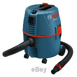 Aspirateur Filaire Professionnel Bosch Gas15l - Extracteur Mobile De Poussière Humide / Sèche