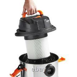 Aspirateur Humide Et Sec Vonhaus 1250w 30l Vac Sans Sac Avec Fonction Blower