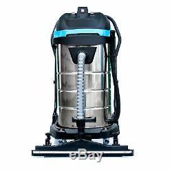 Aspirateur Industriel Bautec Wet & Dry 100l 3400w / Aspirateur Commercial