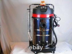Aspirateur Industriel Humide Et Sec 80l Carwash Kit 6pc Kit Gratuit 3000w B0275