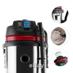 Aspirateur Industriel Humide Hepa Aspirateur Sec Filtre Socket Red 2000w 60l