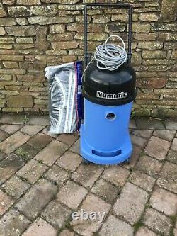 Aspirateur Industriel Numatic Wv470-2 Blue Wet & Dry 240v Rénové