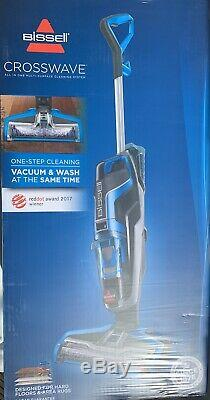Bissell 1713 Crosswave All In One Wet & Dry Cleaner Bleu / Gris Bnib Sealed