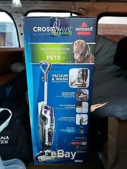 Bissell Crosswave Pet Cleaner Pro Multisurface Nouveau! Avec Des Objets Bonus Humides Ou Secs