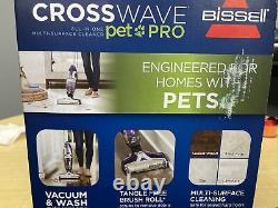 Bissell Crosswave Pet Pro All-in-one Corded Wet Aspirateur À Sec 2306a Nouveau
