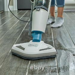 Black And Decker Hepa Corded Steam Mop And Vacuum Cleaner Combinaison Duo, Blanc