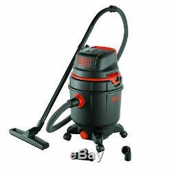 Black & Decker Wet & Dry Aspirateur 30 L 1600w Bxvc30pde 2 Ans De Garantie