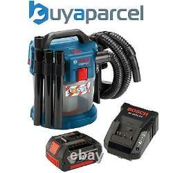 Bosch 18v Gas18v10l Extracteur De Poussière Sans Fil Aspirateur Sec Humide + Batterie 4ah